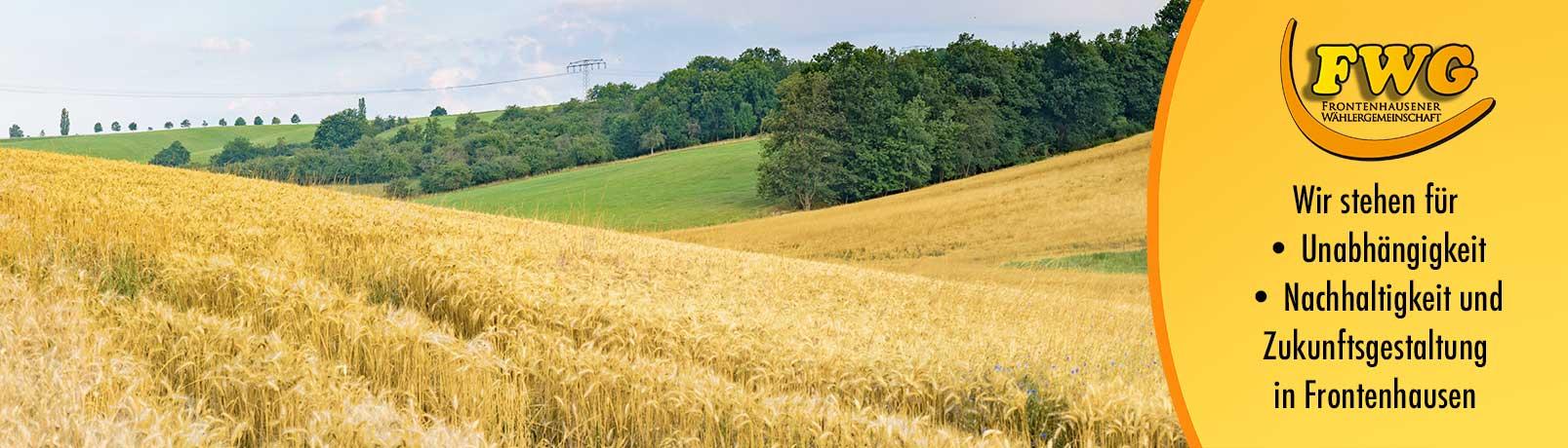 Gesunde Landwirtschaft und Waelder
